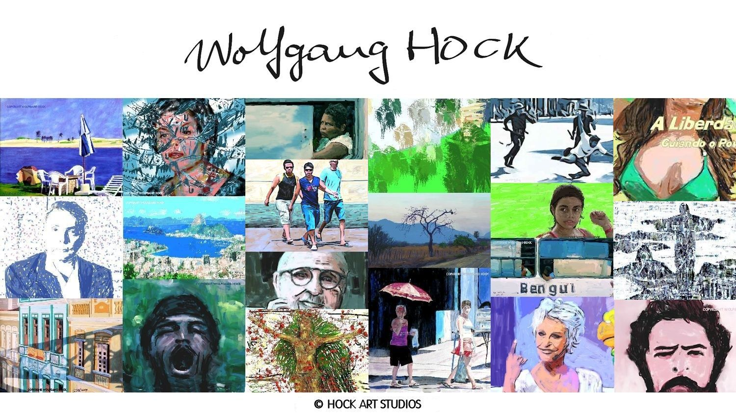 Now hock art studios are represented by